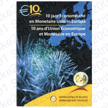 Belgio - 2€ Comm. 2009 EMU in Folder FDC