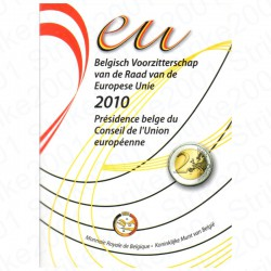 Belgio - 2€ Comm. 2010 in Folder FDC