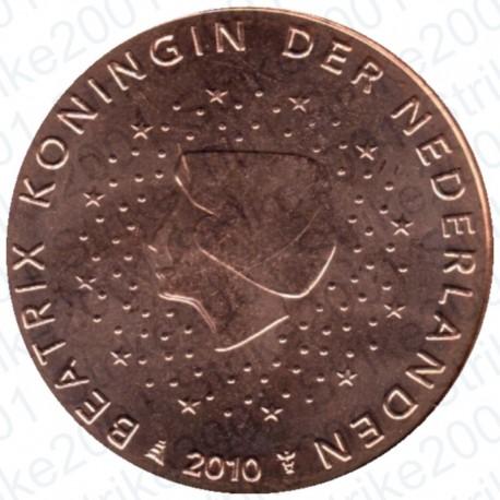 Olanda 2010 - 2 Cent. FDC