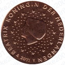 Olanda 2011 - 1 Cent. FDC