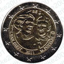 Belgio - 2€ Comm. 2011 FDC Giornata della Donna