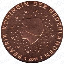Olanda 2011 - 2 Cent. FDC