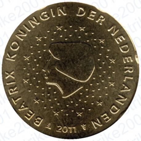 Olanda 2011 - 20 Cent. FDC