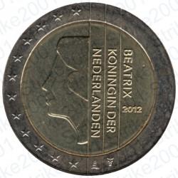 Olanda 2012 - 2€ FDC