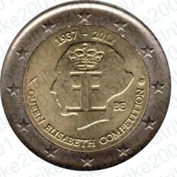 Belgio - 2€ Comm. 2012 FDC Regina Elisabetta