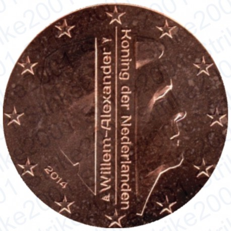 Olanda 2014 - 1 Cent. FDC