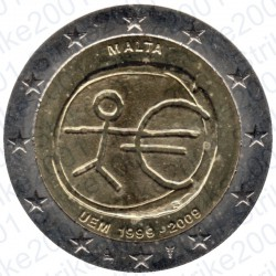 Malta - 2€ Comm. 2009 FDC EMU