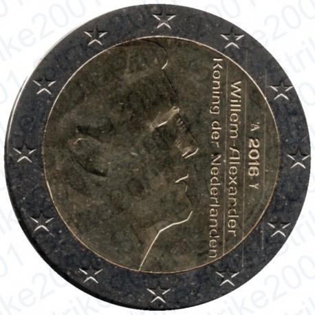 Olanda 2016 - 2€ FDC
