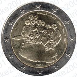 Malta - 2€ Comm. 2013 FDC Governo Autonomo