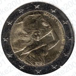 Malta - 2€ Comm. 2014 FDC Indipendenza