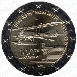 Malta - 2€ Comm. 2015 FDC Primo Volo