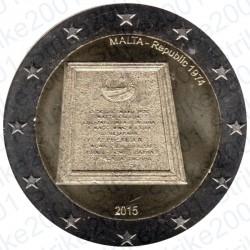 Malta - 2€ Comm. 2015 FDC Proclamazione Repubblica