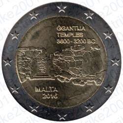 Malta - 2€ Comm. 2016 FDC Ggantija