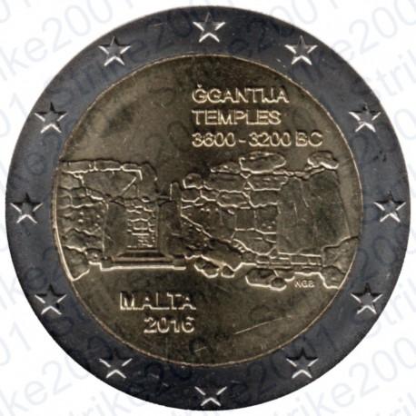 Malta - 2€ Comm. 2015 FDC Ggantija