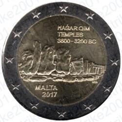 Malta - 2€ Comm. 2017 FDC Templi Hagar Qim