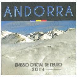 Andorra - Divisionale Ufficiale 2014 FDC