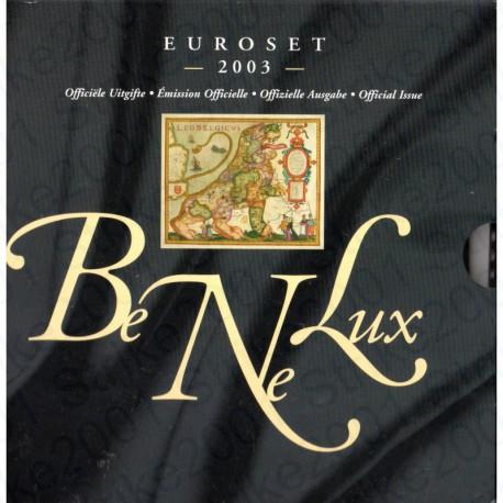 Belgio - Serie BENELUX 2003 FDC