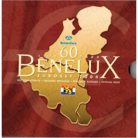 Belgio - Serie BENELUX 2004 FDC