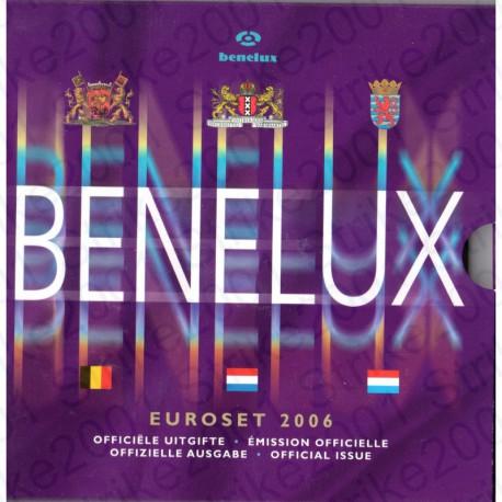 Belgio - Serie BENELUX 2006 FDC