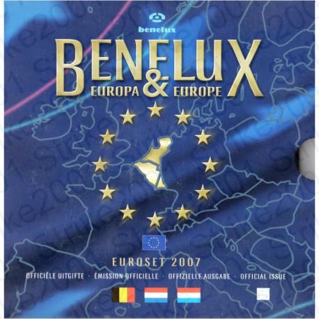 Belgio - Serie BENELUX 2007 FDC