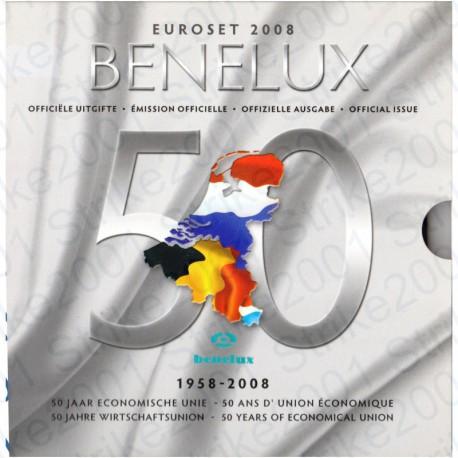 Belgio - Serie BENELUX 2008 FDC