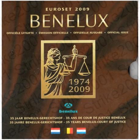 Belgio - Serie BENELUX 2009 FDC