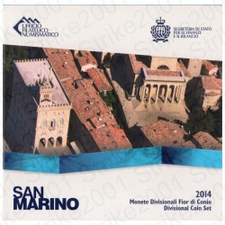 San Marino - Divisionale Ufficiale 2014 FDC