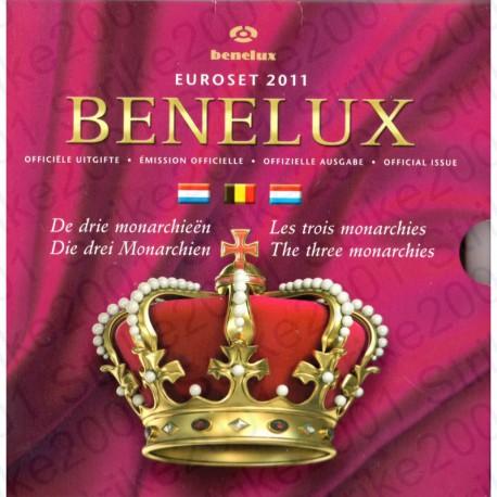 Belgio - Serie BENELUX 2011 FDC