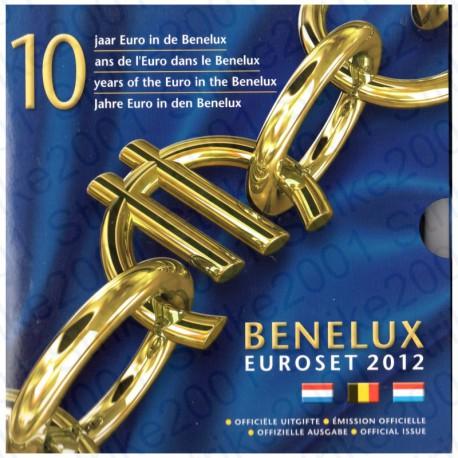Belgio - Serie BENELUX 2012 FDC