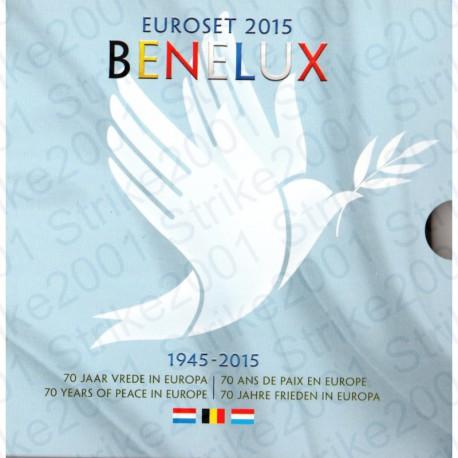 Belgio - Serie BENELUX 2015 FDC