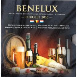 Belgio - Serie BENELUX 2016 FDC