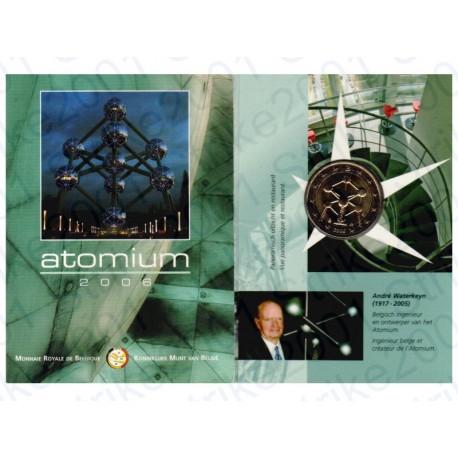 Belgio - 2€ Comm. 2006 FDC in Folder