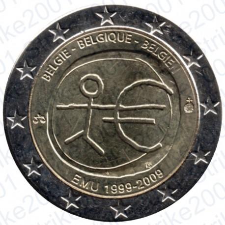Belgio - 2€ Comm. 2009 FDC EMU