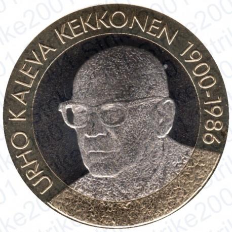 Finlandia - 5€ 2017 FDC Presidente Kekkonen