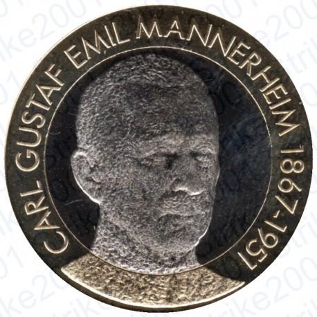 Finlandia - 5€ 2017 FDC Presidente Mannerheim