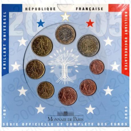 Francia - Divisionale Ufficiale 2005 FDC