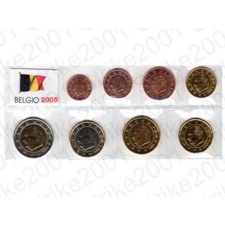 Belgio - Blister 2005 FDC