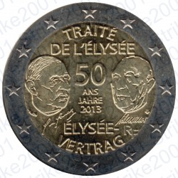 Francia - 2€ Comm. 2013 FDC Eliseo