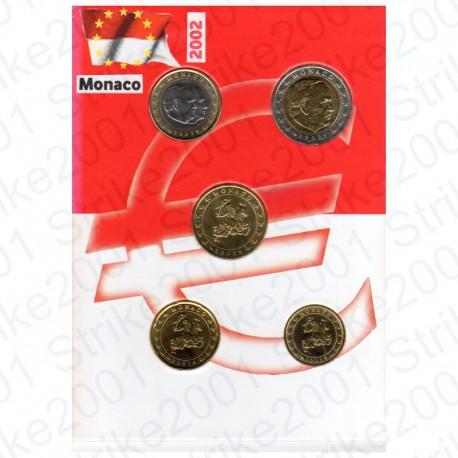 Monaco - Blister 2002 FDC 5 Valori