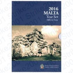 Malta - Divisionale Ufficiale 2016 FDC