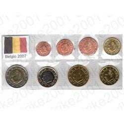 Belgio - Blister 2007 FDC