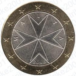 MALTA 2008 - 1€ FDC