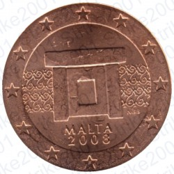 Malta 2008 - 5 Cent. FDC