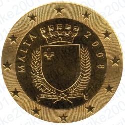 Malta 2008 - 50 Cent. FDC