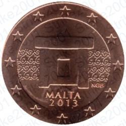 Malta 2013 - 1 Cent. FDC