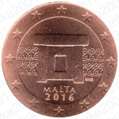 Malta 2016 - 1 Cent. FDC