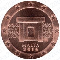 Malta 2016 - 2 Cent. FDC