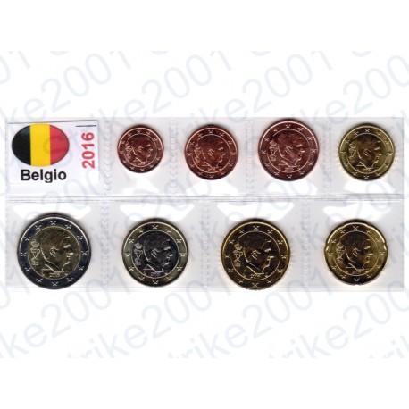Belgio - Blister 2016 FDC