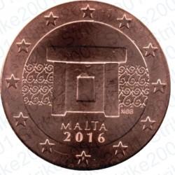 Malta 2016 - 5 Cent. FDC