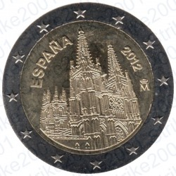 Spagna - 2€ Comm. 2012 FDC Burgos